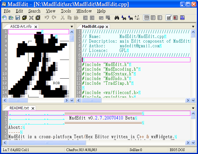 Madedit-Mod - Browse /0 4 2 at SourceForge net